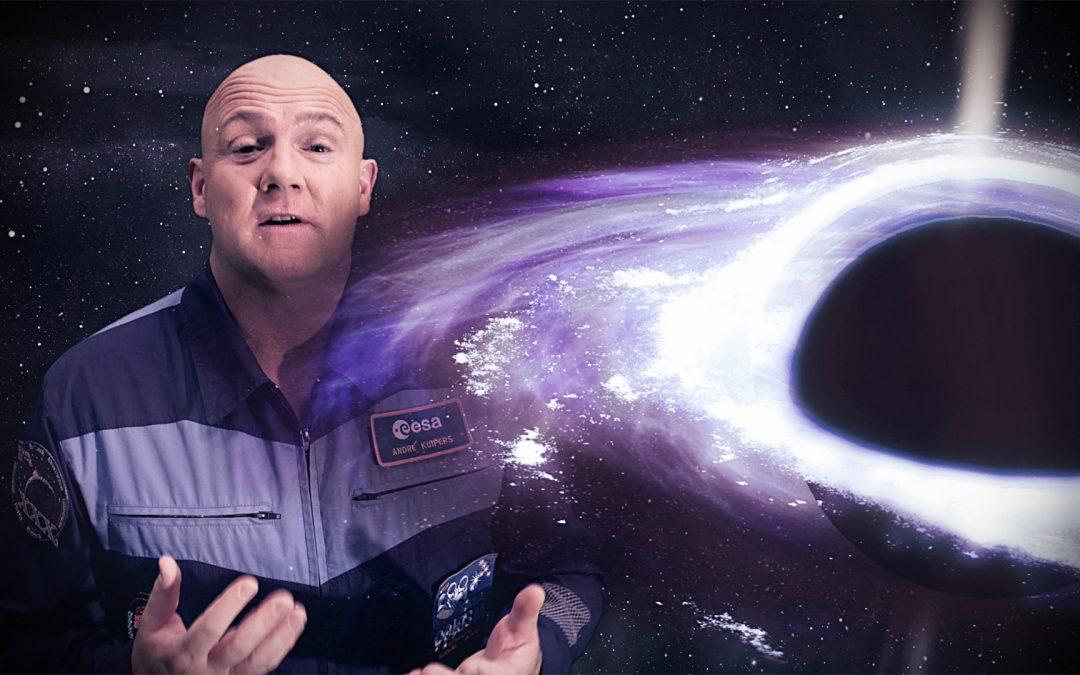 Kinderen ontdekken de ruimte met André Kuipers